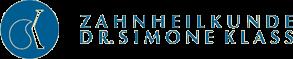 Zahnarztpraxis Dr. med. Simone Klass Sticky Logo